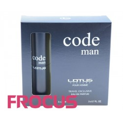 LOTUS CODE MAN 3 x 20ml
