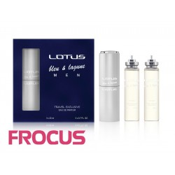 LOTUS BLEU & LAGUNE 3 x 20ml MEN