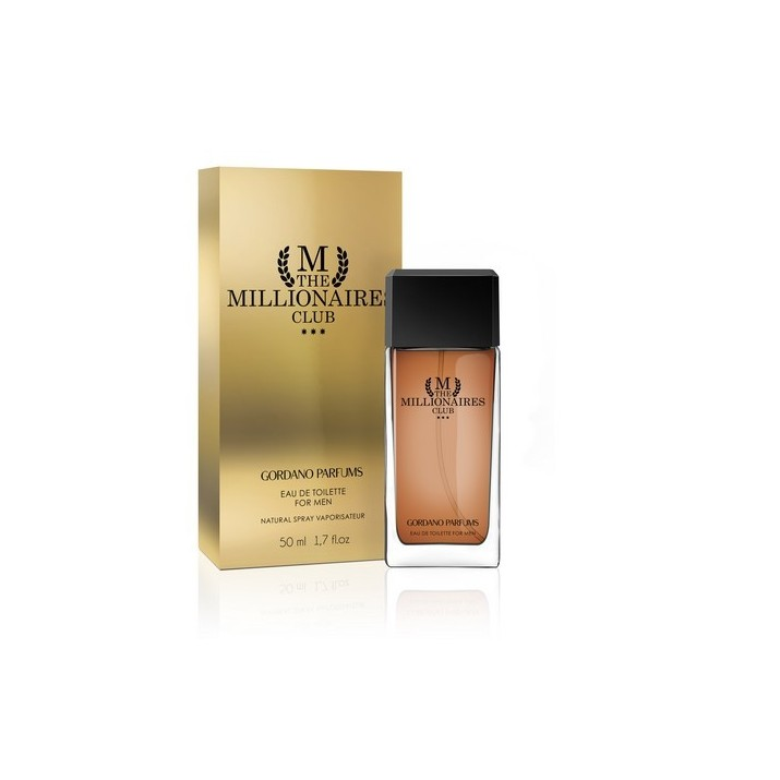 GORDANO PARFUMS M THE MILLIONAIRES CLUB EDT 50ml